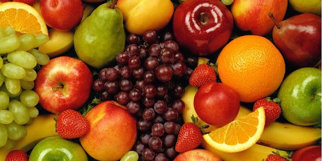 Quantas calorias tem cada fruta?