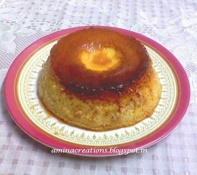 EGG PUDDING/ CARAMEL CUSTARD PUDDING (DETAILED RECIPE)