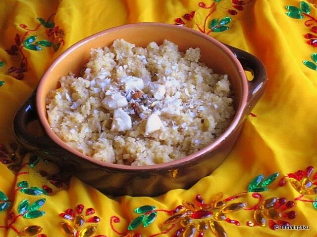 Godhuma Rava Halwa ~ Wheat Rava Halwa