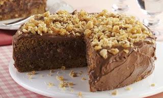Bolo de Chocolate e Amendoim