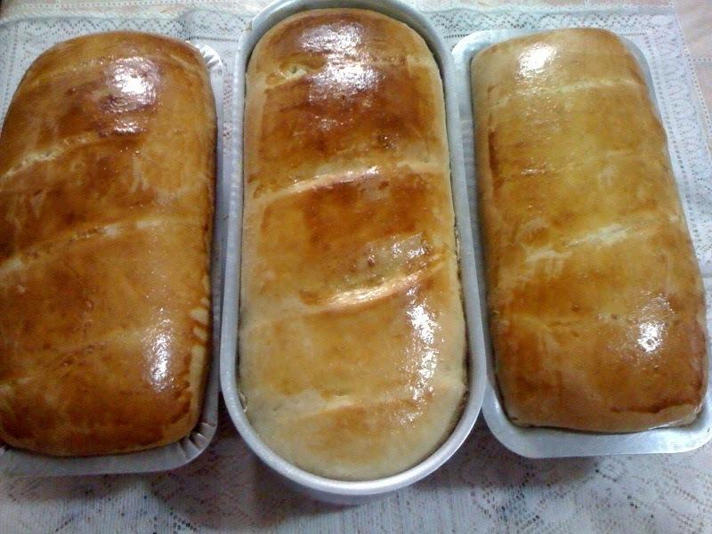Pão Caseiro Adocicado