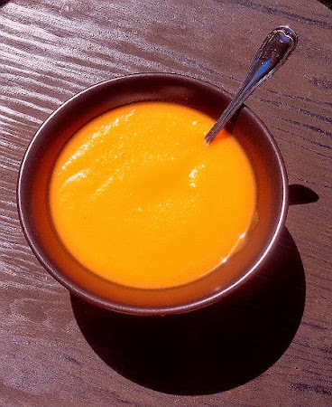 Waist Watcher's Special - Apple and Sweet Potato Soup
