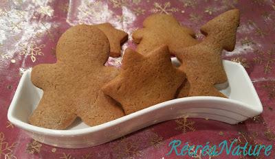 Biscuits de Noël aux 4 Épices : Cannelle, Gingembre, Noix de Muscade et Clous de Girofle