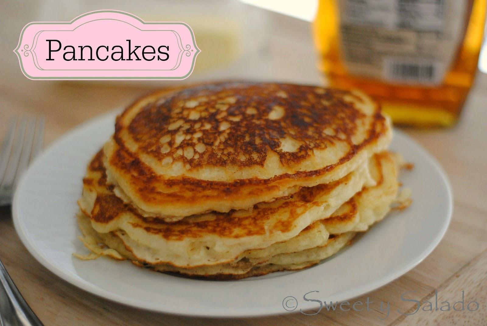 Pancakes O Panqueques De Suero De Leche (Buttermilk)