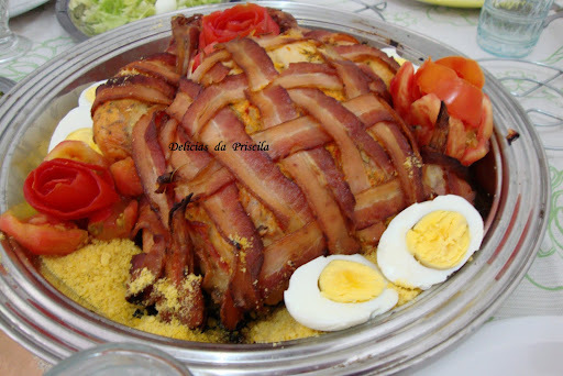 Chester com Cestaria de Bacon