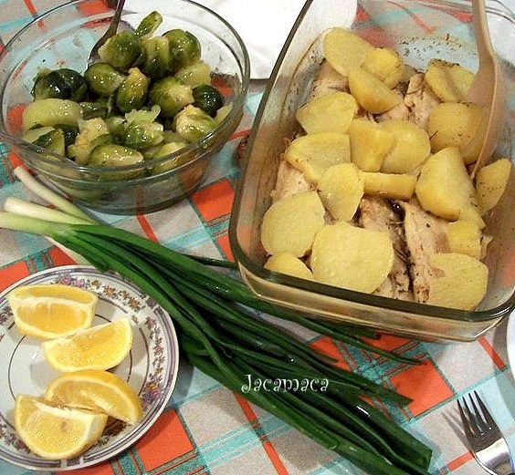 Fileti oslića sa povrćem na pari