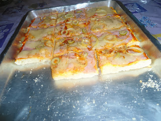 simples de massa de pizza com fermix