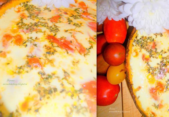 Овощной киш ( Quiche aux légumes). Рецепт №12 Марафон-Пикник (флешмоб)