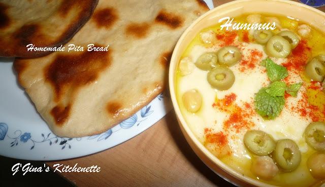 Hummus (Chick Peas dip)