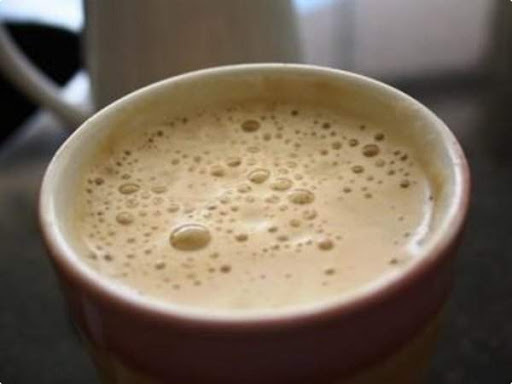 café cremoso gelado