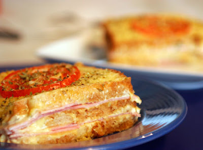como fazer misto quente na sanduicheira
