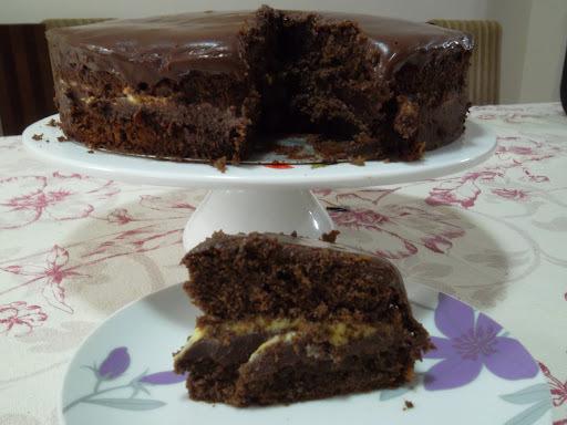 bolo de chocolate para duas pessoas