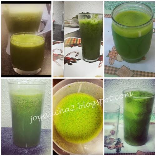 Suco verde!