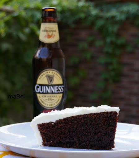 Torta guinness o de cerveza negra (Nigella Lawson ¿?)