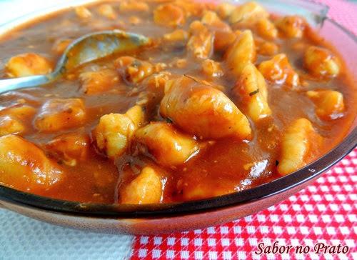 Nhoque de Mandioquinha (Batata Salsa)