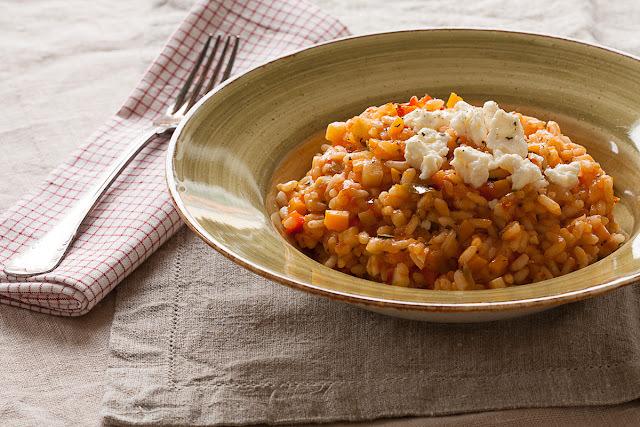 Pirinač sa paradajzom i povrćem