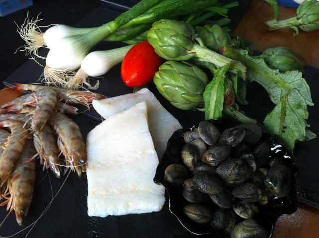 Suquet de bacallà amb carxofes i llagostins, el de TV3