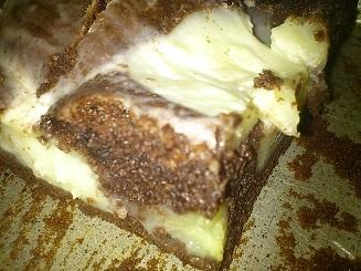 kokosový koláč s pudingom