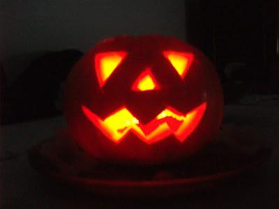 "Bolo de abóbora ""Halloween"""