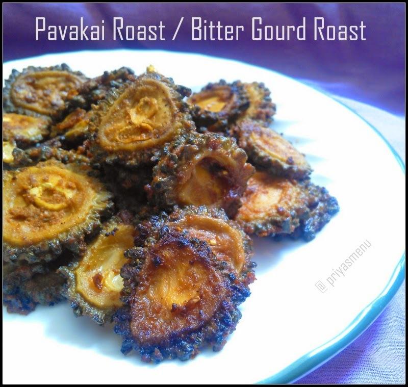 Bitter Gourd Roast / Pavakai Varuval