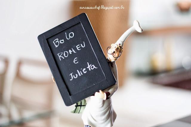 Receitinha do dia: Bolo Romeu e Julieta pra comer ajoelhado