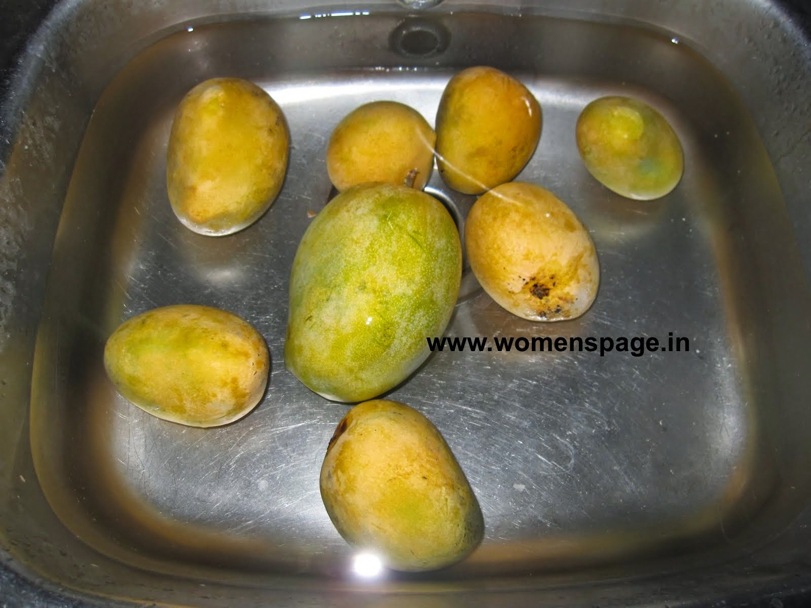 How to remove the heat producing property of the Mangoes