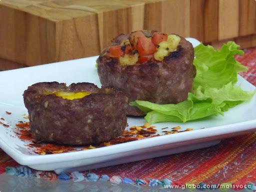 tabule de forno com carne moida