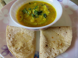 dal curry for chapathi