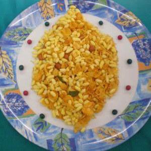 Murmura (Kurmura )Chiwda | Puffed rice  Diwali chivda