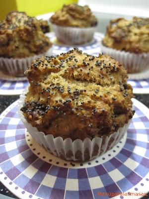 Menú del día: Muffin de plátanos y dátiles