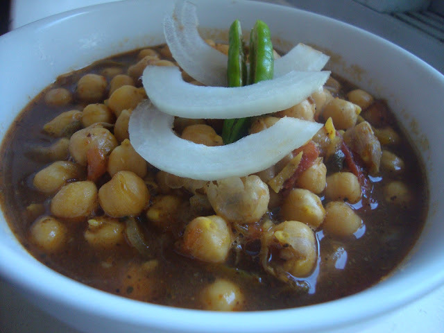Punjabi Chole/Channa Masala/Chickpea  Curry/Pindi Channa