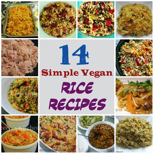14 Simple Vegan Rice Recipes