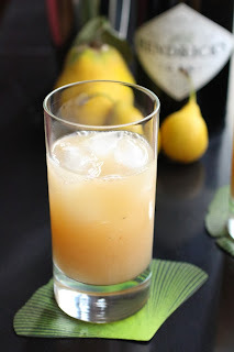 Cocktail 'Gin au verger'