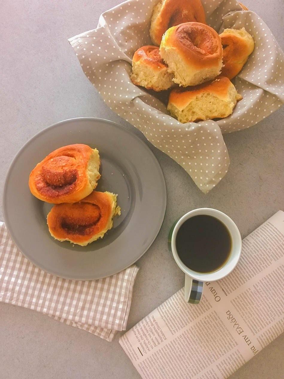 Γλυκά ψωμάκια κανέλας - Cinammon rolls
