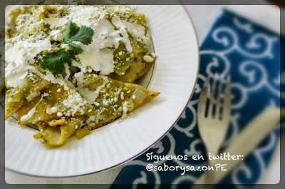 COMO PREPARO CHILAQULES MEXICANOS - RECETA DE CHILAQUILES VERDES - Green Chilaquiles