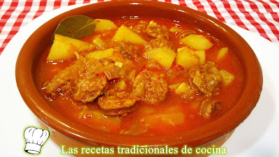 Receta de Patatas a la Riojana