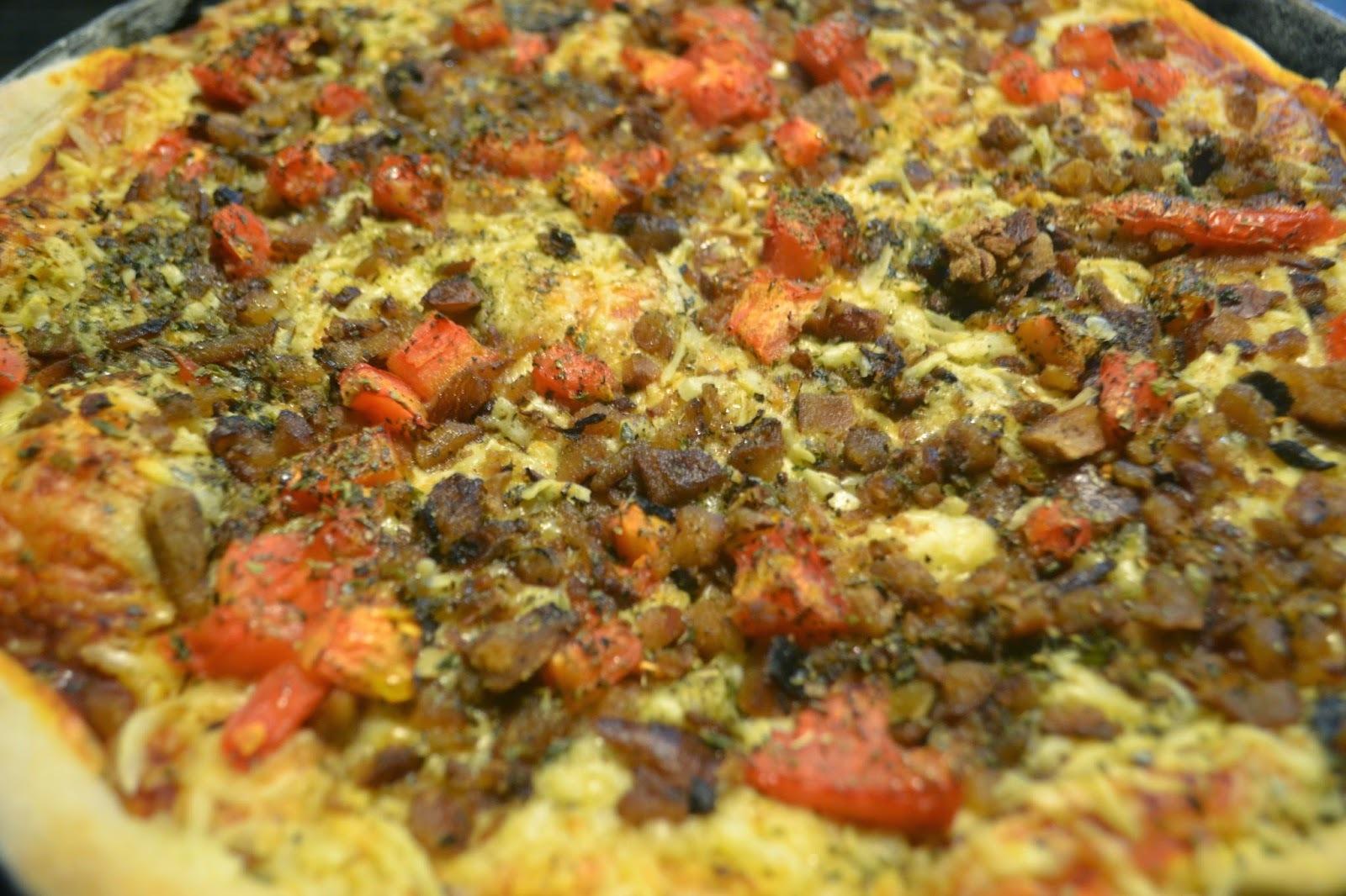 Pizza de pinhão
