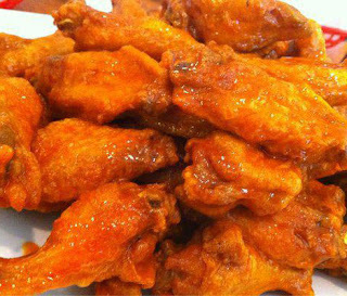 "Alitas enchiladas (""Hot snack wings""   Alitas botaneras)"