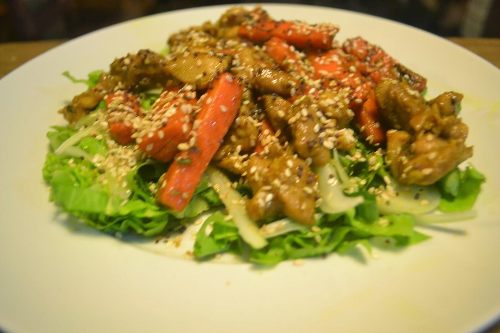 Uma salada maravilhosa