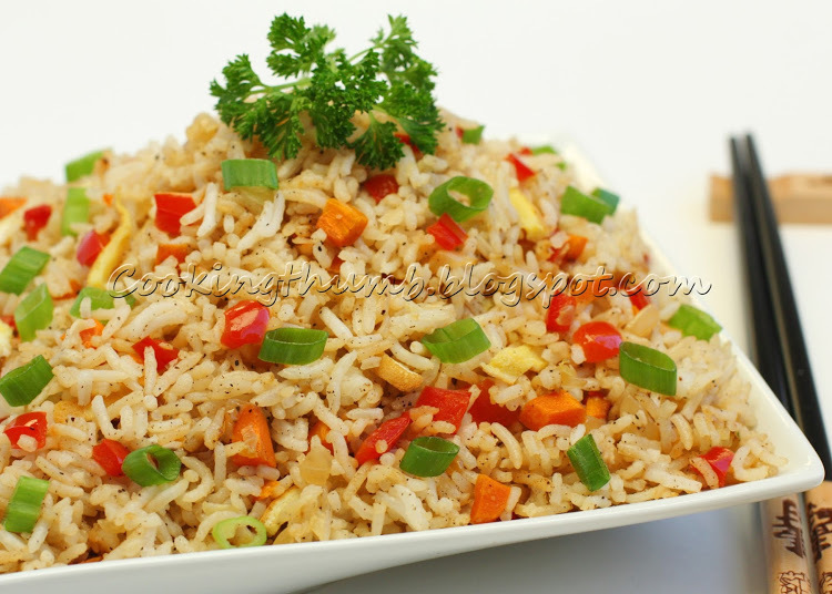Black Pepper Fried Rice