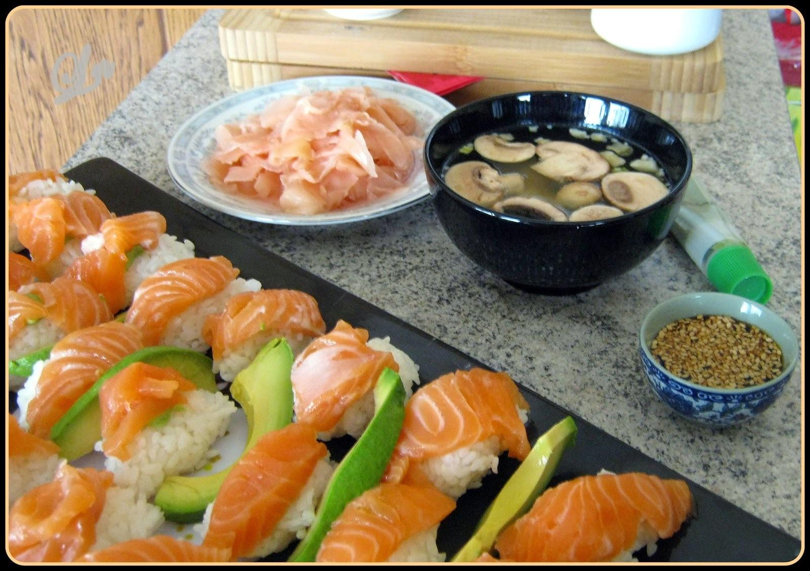 Le samedi c'est sushi ^^
