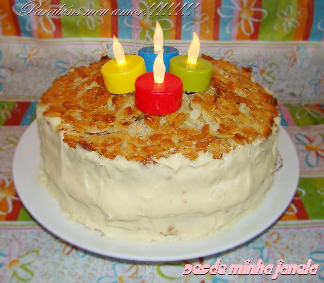bolos e coberturas