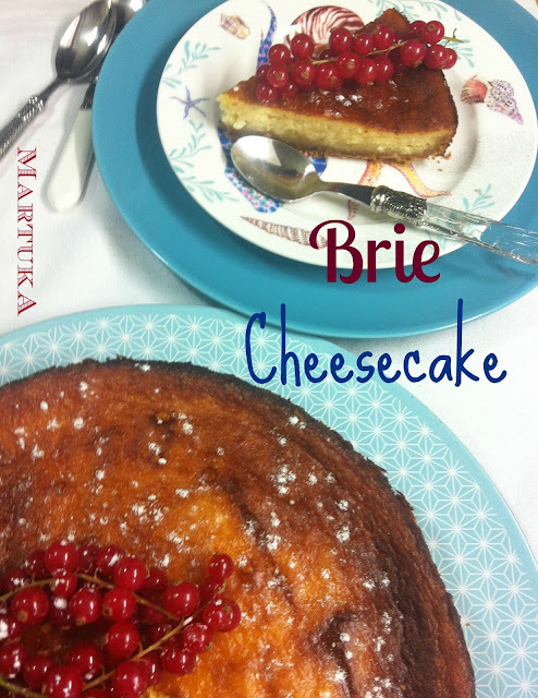 Tarta De Queso Brie (Brie Cheesecake)