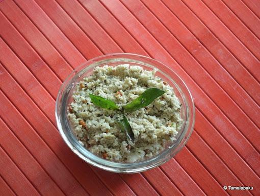 Kobbari Pachadi ~ Coconut Chutney