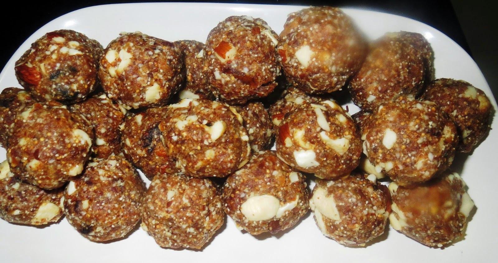 Date Nuts Unde (Laddu)