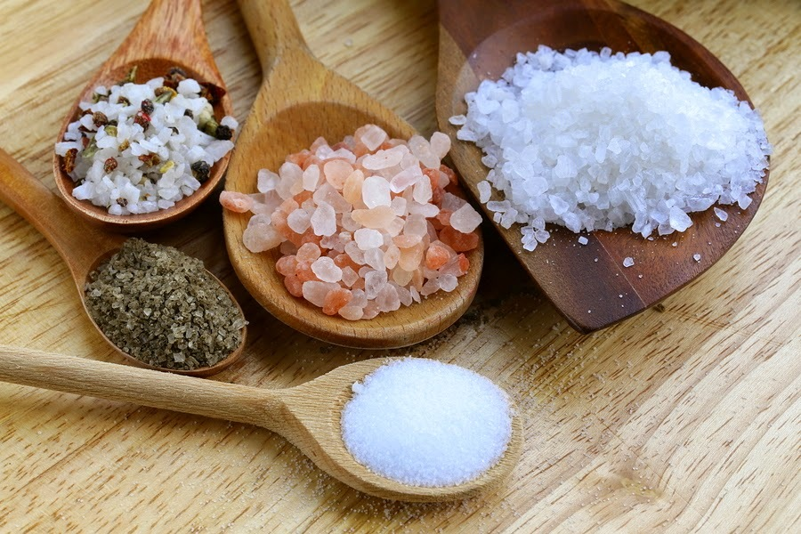 Diferenças entre os principais tipos de sal