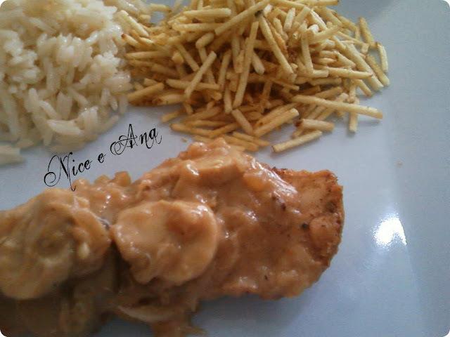 acompanhamento para frango frito