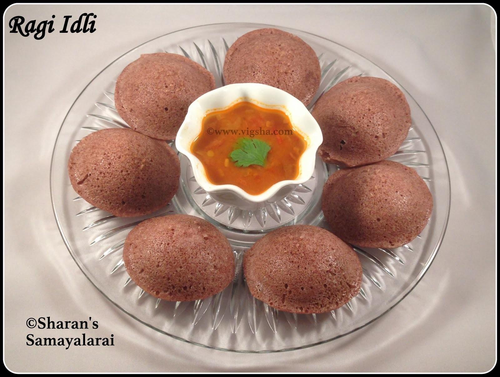 கேழ்வரகு(ராகி) இட்லி | Instant Ragi Idli