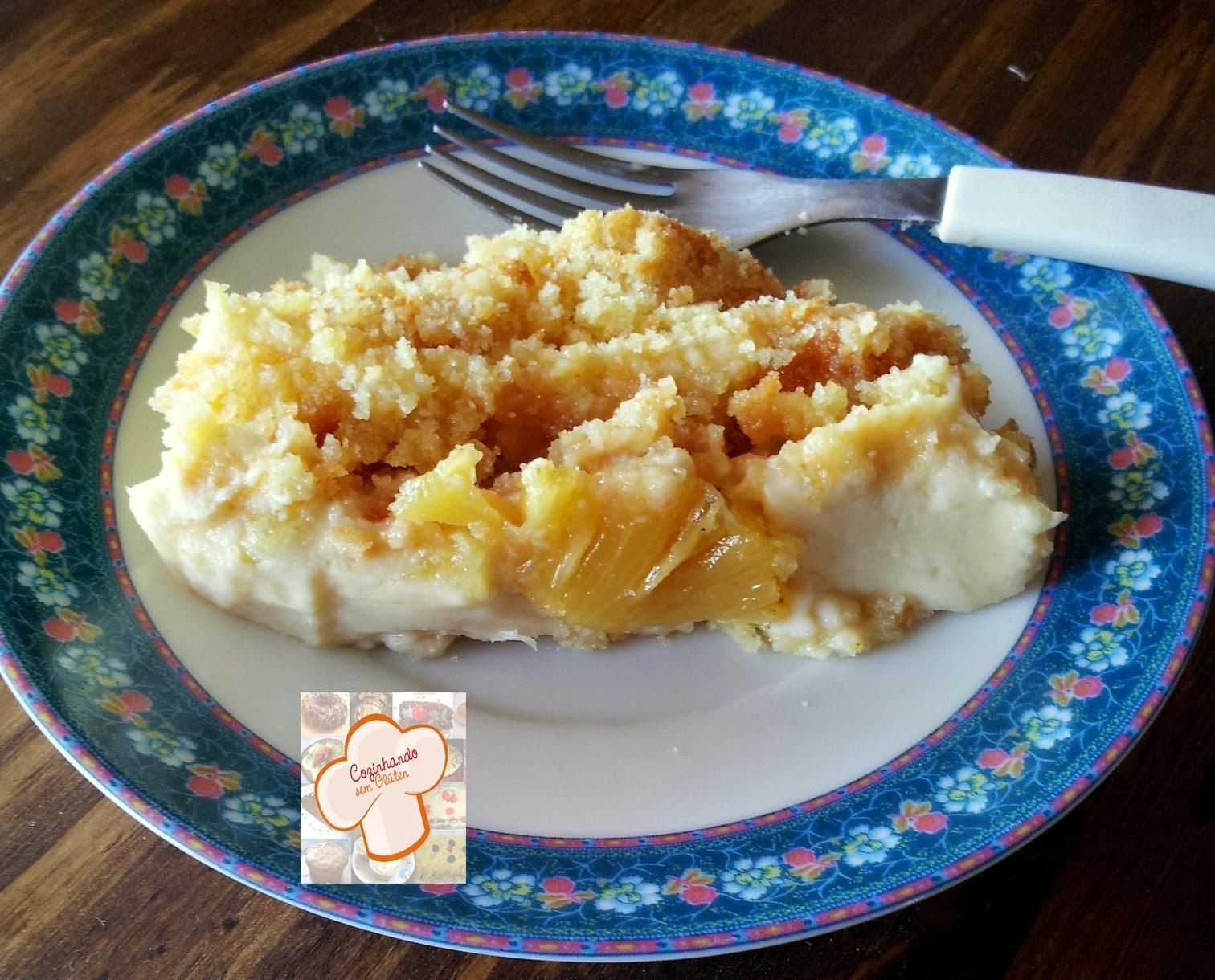 Bolo - torta de abacaxi