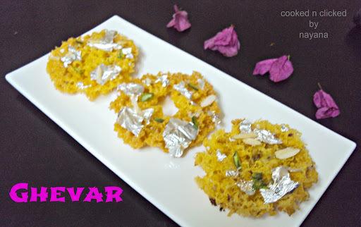 Rajasthani Mini Ghevar